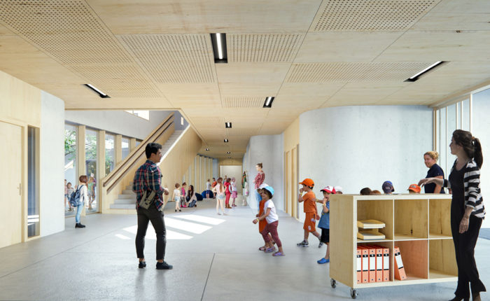 Projet groupe scolaire MEITNER